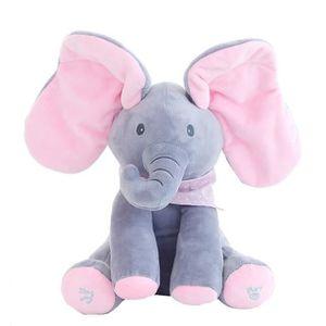 PELUCHE Poupée Peluche Chant éléphant / Ours Musique élect
