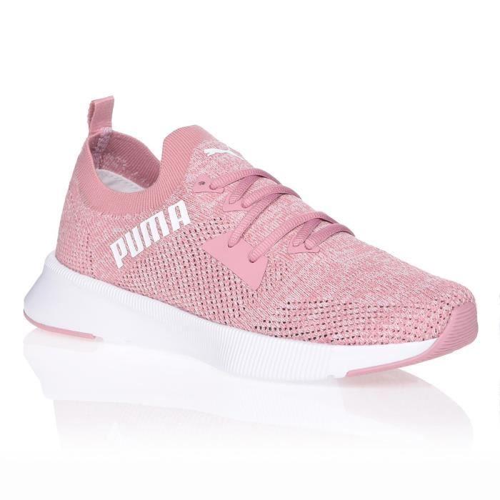 PUMA Chaussures de running FLYER RUNNER KNIT - Femme - Rose ...