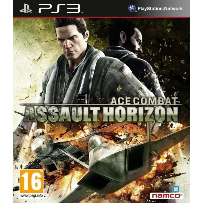JEU PS3 ACE COMBAT ASSAULT HORIZON / Jeu console PS3