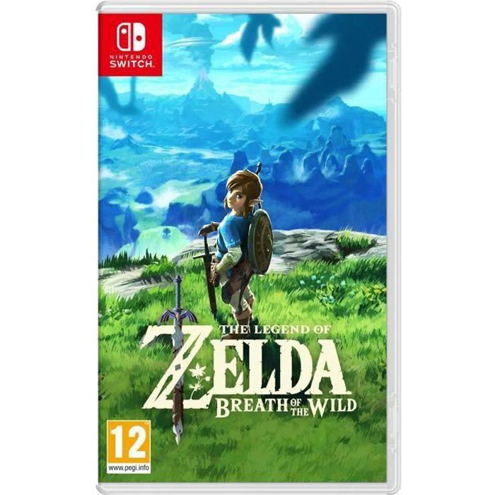 the legend of zelda breath of the wild jeu switch. Black Bedroom Furniture Sets. Home Design Ideas