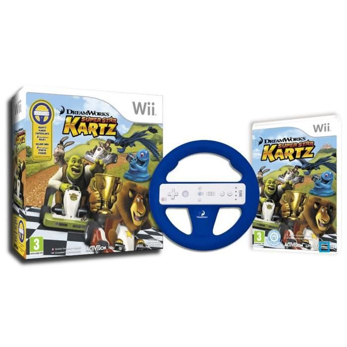 JEUX WII DREAMWORKS SUPER STAR KARTZ Bundle / Jeu Wii