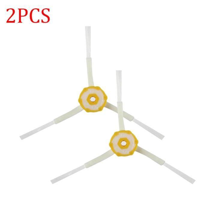 2PCS - Brosse latérale à 3 bras pour aspirateur Robot iRobot Roomba, pièces de rechange, séries 600 700 528 5