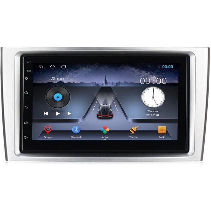 Amimilili An oid 8.1 2Din Autoradio pour Peugeot 408 308 308SW 2008-2015 Lecteur Multim&eacutedia Navigation GPS avec USB Bluet371