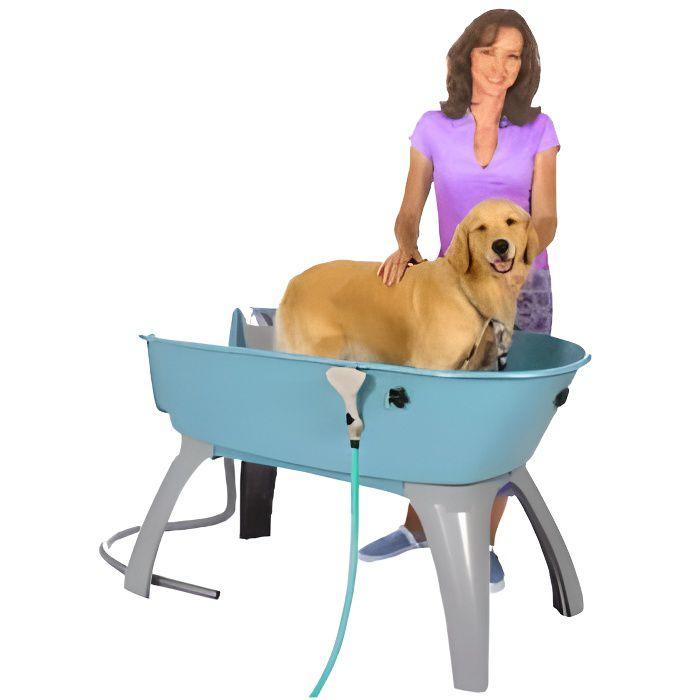 Baignoire booster bath toilettage chien