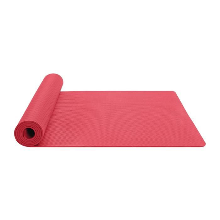 Tapis de yoga classique Yoga Mat Pro TPE Eco Friendly Antiderapant Fitness Tapis d'exercice Produit de yoga 72