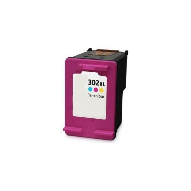HP Officejet 3833 - Cartouche d Encre Couleur Compatible version XL HP302C
