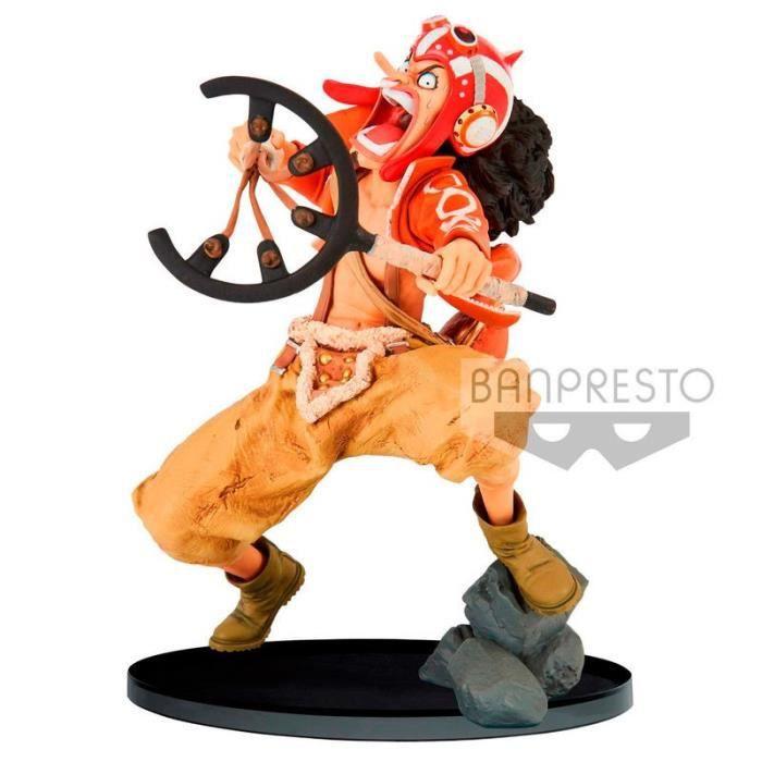 banpresto - chiffre du monde one piece banpresto colosseum usopp 15cm -91263-91263