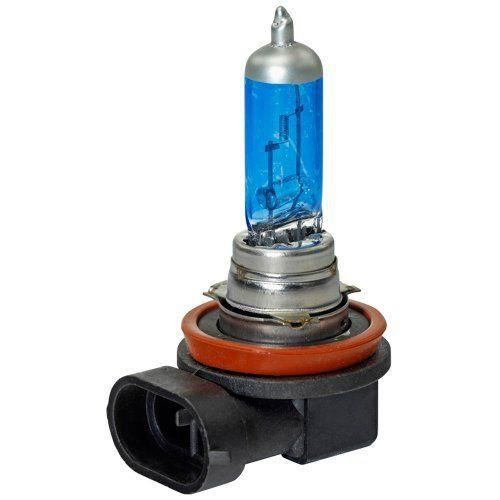 Euroda DWH08 - AUTO/MOTO - AMPOULES - DW H08 Ampoules Halogène E4 H8 35W/12 V/4800K, Super White Bleu, 2 Pièces