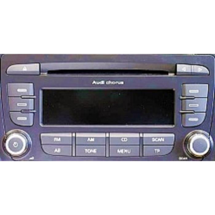 AUTO- RADIO CD CHORUS pour AUDI A3