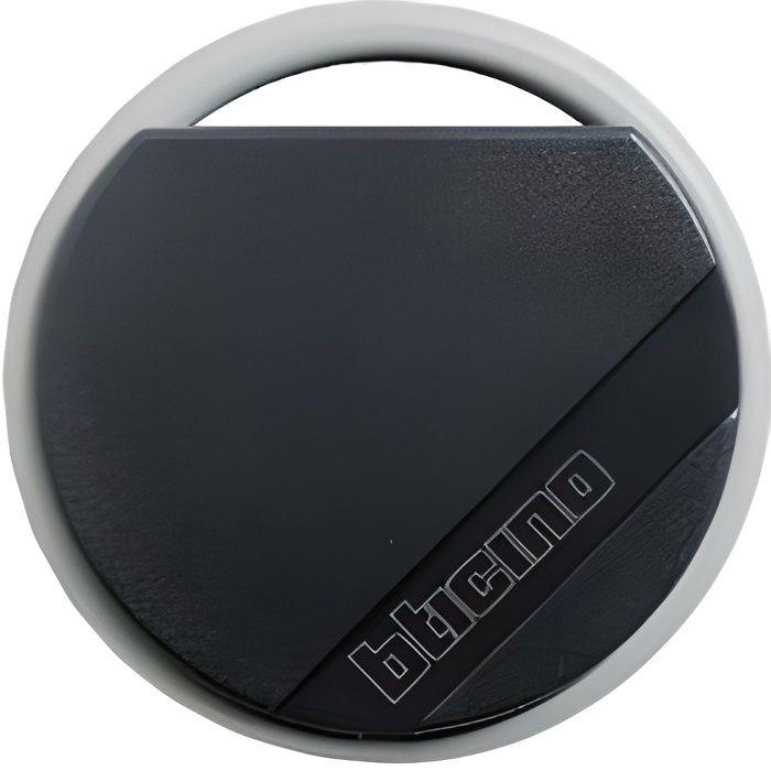 Bticino Terraneo 348200 - Badge de proximité résidents 13.56Mhz (lecture/écriture) - Couleur Noire