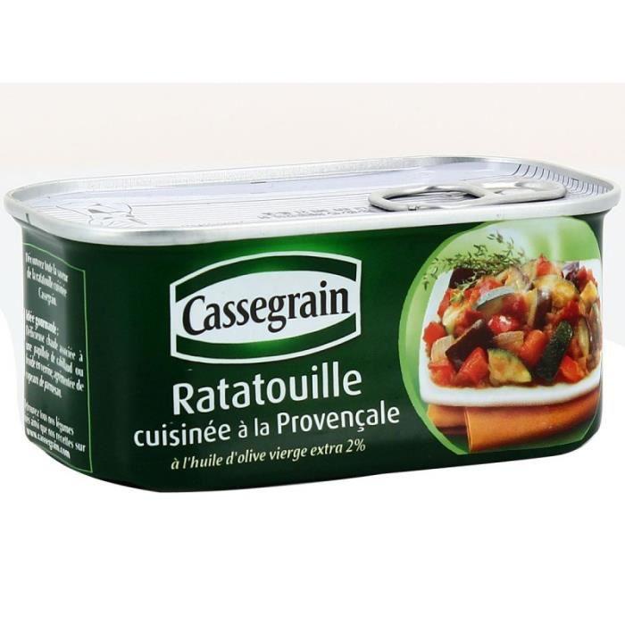 BONDUELLE EUROPE LONG LIFE Ratatouille à la provençale Cassegrain - 185 g