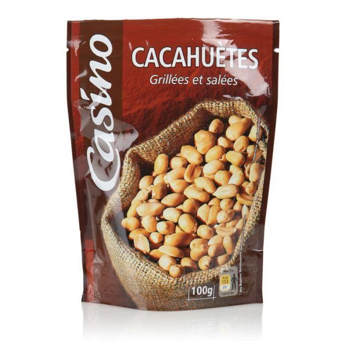 Cacahuètes grillées et salées - 100 g