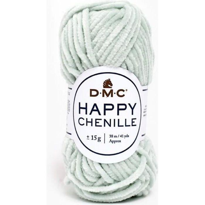 Pelote HAPPY CHENILLE pour Amigurumi, mini pelote 15g, DMC 16 Nil