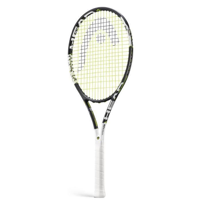 HEAD 230655-U Graphene Xt Speed Raquette de tennis Noir-Vert-Blanc Taille 10