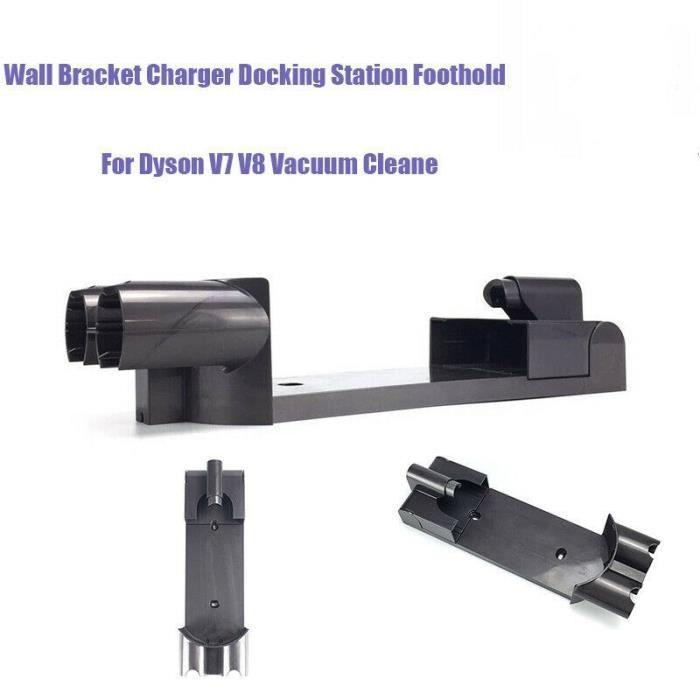 Support mural pour aspirateur Dyson V7 V8, Support de montage mural pour station de base de chargeur de suspension Dyson