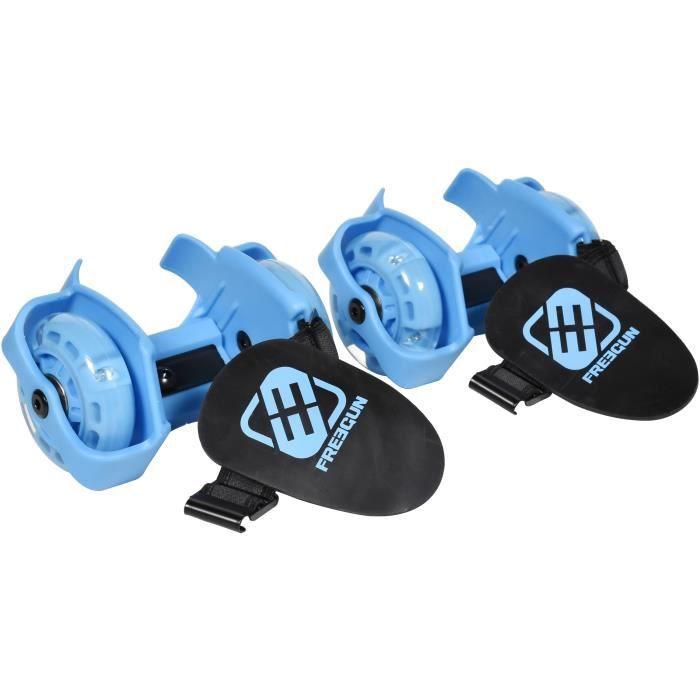 FREEGUN Rollers Flashing - Design Logo bleu