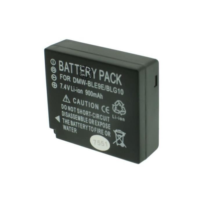 Batterie Appareil Photo pour PANASONIC LUMIX DMC-TZ80