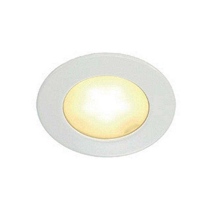 ENCASTRE PLAFOND ROND 3W LED blanc chaud Chrome