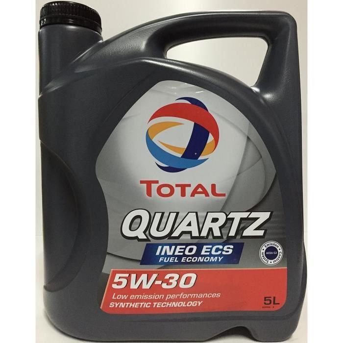 Total ACTOT5W305L Quartz 5W30 Huile Moteur, 5L