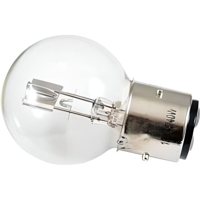 LAMPE/AMPOULE 12V 36/45W IMPORT PROJECTEUR BLANC (BA21d)