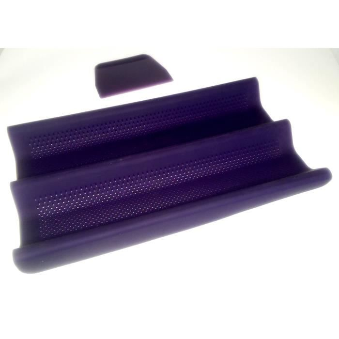 YOKO DESIGN Kit moule à pain baguette violet