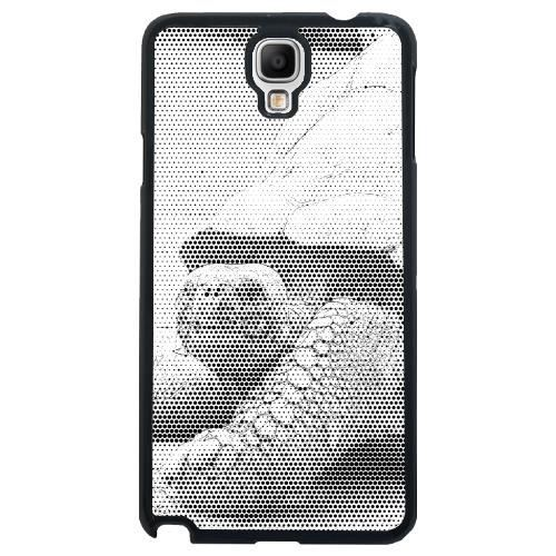 coque pour samsung galaxy note 3 neo lite n7505 tortue b w croquis achat coque bumper. Black Bedroom Furniture Sets. Home Design Ideas