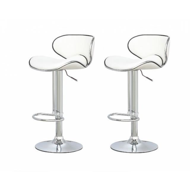 Annonces Tabouret De Bar X2 Pied Chrome  Vendreouacheter