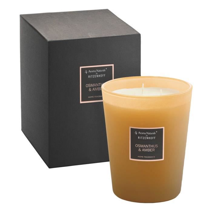 RITZENHOFF Riviera Aroma Naturals Selection Bougie parfum/ée 3 m/èches