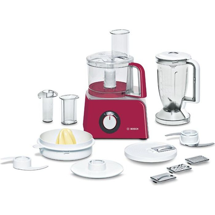 Bosch robot multifonction mcm42024 red diamond achat for Robot cuisine multifonction bosch