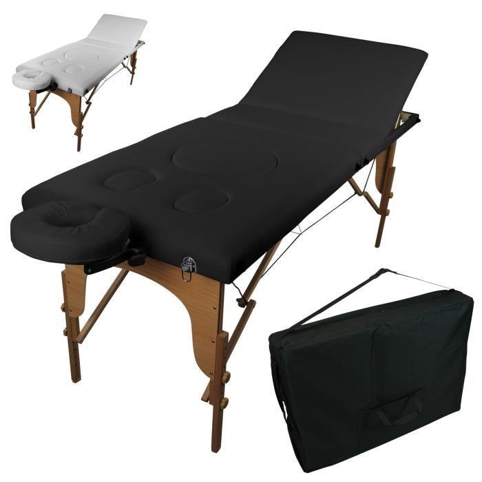 pour en de Table massage pliante enceinte bois 3 femme Zones rdCBoexW
