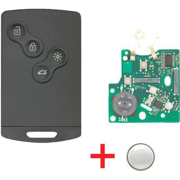électronique à programmer Renault Mégane 2 Scénic 2 clio3 Carte clé vierge
