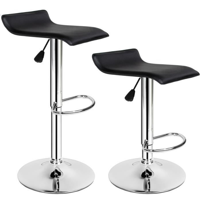 tabouret de bar lot de 2 tabouret de bar design chaise. Black Bedroom Furniture Sets. Home Design Ideas