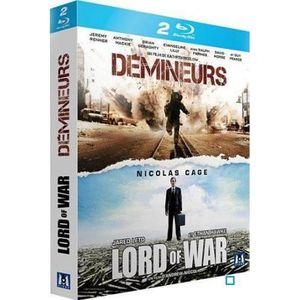 BLU-RAY FILM Blu-Ray Coffret guerre : démineurs ; lord of war