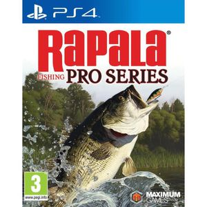 JEU PS4 Rapala Fishing Pro Series Jeu PS4