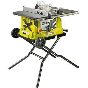 SCIE ÉLECTRIQUE RYOBI Scie / table 1800W + Electronique