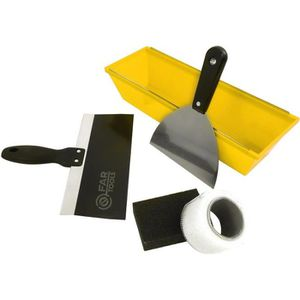 FARTOOLS Kit ? enduire du plaquiste