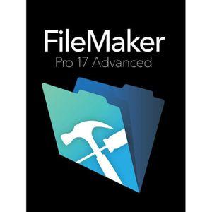 PROFESSIONNEL FILEMAKER Pro 17 Adv Retail Box