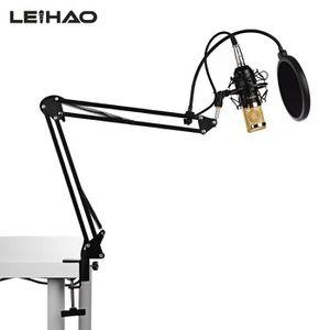 HAUT-PARLEUR - MICRO LEIHAO BM-800 d'enregistrement micro condensateur