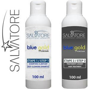 DÉFRISAGE - LISSAGE SALVATORE BLUE GOLD - TANINOPLASTIE - Lissage au T