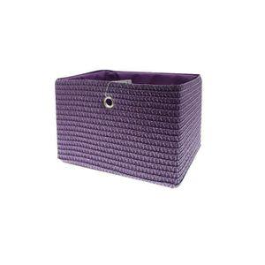 CASIER POUR MEUBLE FRANDIS Panier de rangement 33x26x23 cm Violet