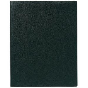 AGENDA - ORGANISEUR Agenda semainier exdi 21x27 spirale noir