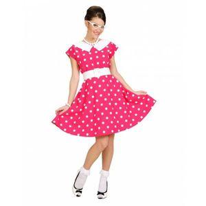 ROBE polka dot robe des années 50 Gr. M