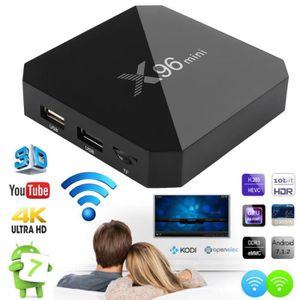 BOX MULTIMEDIA 1x X96mini Smart Android 7.1 TV Box S905W Quad Cor