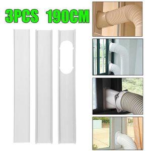 CLIMATISEUR FIXE 3Pcs Ajustable Plaque de Fenêtre Calfeutrage Pour