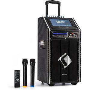 ENCEINTE ET RETOUR auna DisGo Box 100  Système Sono portable mobile 3
