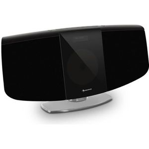RADIO CD CASSETTE auna BlackMask Chaîne HiFi stéréo verticale avec l
