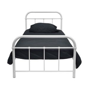 lit metal 90x190 achat vente pas cher. Black Bedroom Furniture Sets. Home Design Ideas