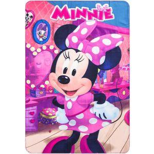COUVERTURE - PLAID Plaid polaire Minnie Mouse couverture enfant Disne