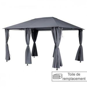 TONNELLE - BARNUM Toile de toit pour la tonnelle SANTORINI 3 x 4 m A