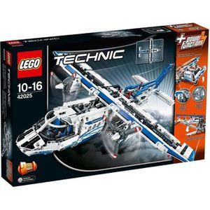 ASSEMBLAGE CONSTRUCTION LEGO® Technic 42025 L'Avion Cargo